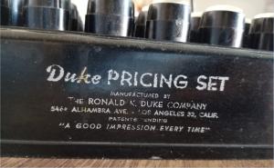 Pricing Set