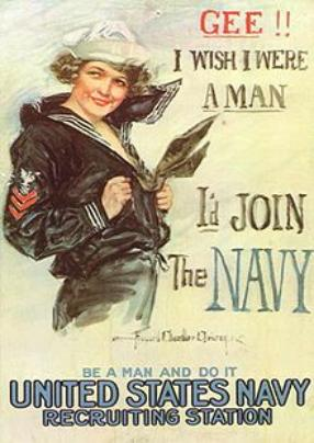 1917 Recruiting Poster