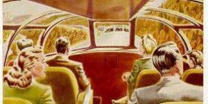 Zephyr Car Postcard